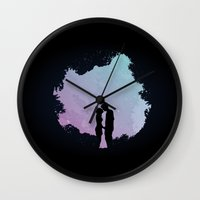 Edge Of The Moonlight Wall Clock