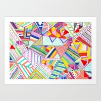 CIRCUS -C A N D Y- POP Art Print