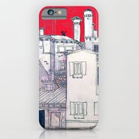 iPhone & iPod Case featuring architectural sketch by Marianna Tankelevich