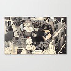 felt self-conscious Canvas Print