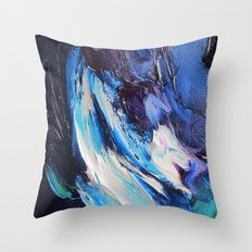 Royal Ice Throw Pillow