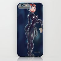 iPhone & iPod Case featuring Catwoman by Melanie Coutavas