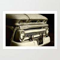 This Old Truck Art Print
