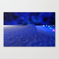 Mission To The Frozen Mo… Canvas Print