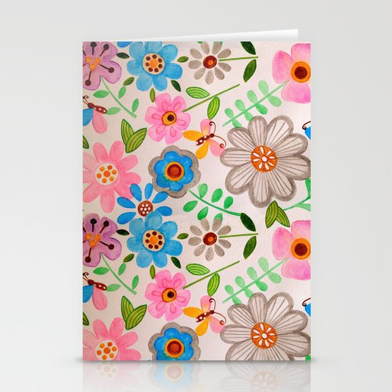 The Garden 2 Stationery Card