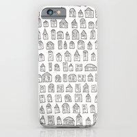 iPhone & iPod Case featuring SACRIFICIAL HOMES (A) by Lauren Little