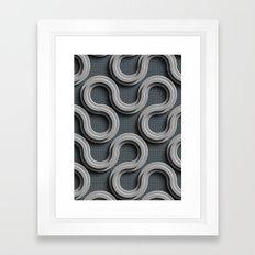 Abstract V-2 Framed Art Print