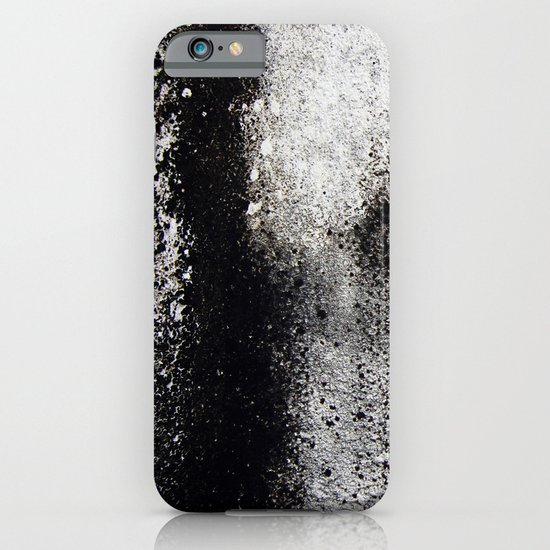 Negro sobre Blanco iPhone & iPod Case