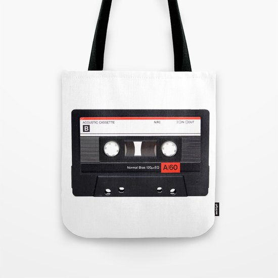 Old School Tape Tote Bag
