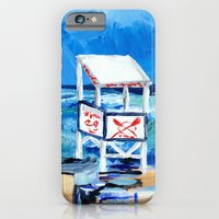 Ocean City Lifeguard Stand iPhone 6 Slim Case