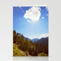 On Back Mountain Roads Stationery Cards
