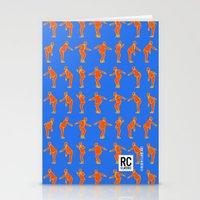 Rocksteady Man - Blue Stationery Cards