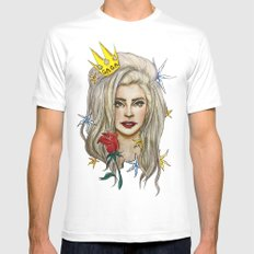 Goddess of LOVE Mens Fitted Tee SMALL White