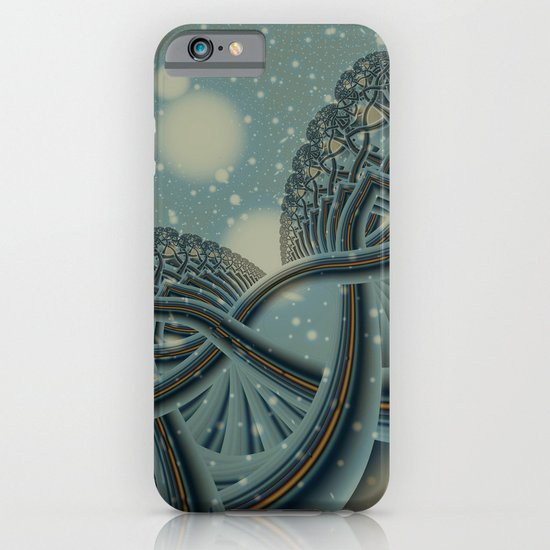 Celtic Winter Forest iPhone & iPod Case
