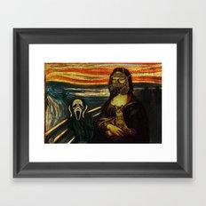 Mona check the bomb honey...  Framed Art Print