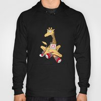 Giraffe With Trainers Hoody