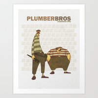 Plumber Bros. Art Print