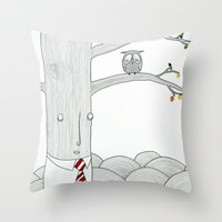 Evaluation Throw Pillow