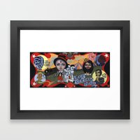 Sideshow Freaks Framed Art Print