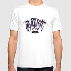 Joan Jett Tribute Mens Fitted Tee SMALL White