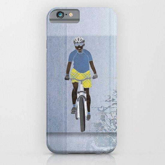 Bicycle girl 1 iPhone & iPod Case