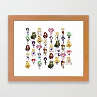 Fighting Evil by MOONLIGHT Framed Art Print
