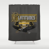 Platitudes Look Awesome … Shower Curtain