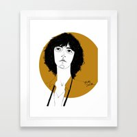 Patti Smith Framed Art Print