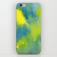 Vibrant sunshine tree top iPhone & iPod Skin