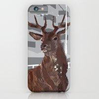 Cityscape Deer iPhone 6 Slim Case