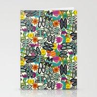 Butterfly Pop Garden Stationery Cards