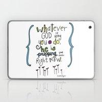 God's Prepping You Laptop & iPad Skin