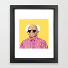 The Israeli Hipster Lead… Framed Art Print