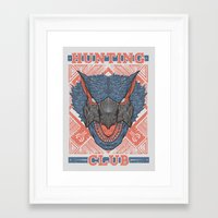 Hunting Club: Nargacuga  Framed Art Print