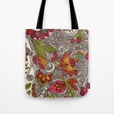 Random Flowers Tote Bag