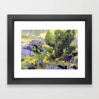 Evergreen Study Framed Art Print