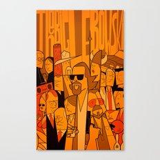 The Big Lebowski (variant aspect ratio) Canvas Print