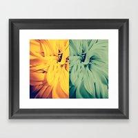 Flower|rewolf Framed Art Print