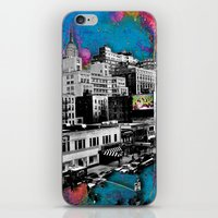 Paint The Town iPhone & iPod Skin