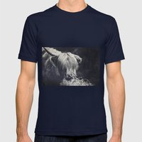 hyppy Mens Fitted Tee Navy SMALL