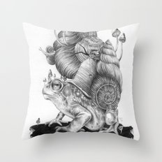 Mr. Toad Throw Pillow