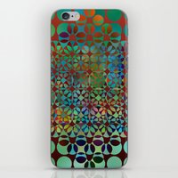 Dots In Dots Pattern iPhone & iPod Skin