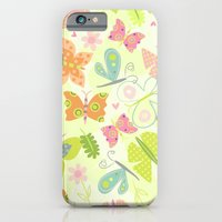 Butterfly Print iPhone 6 Slim Case