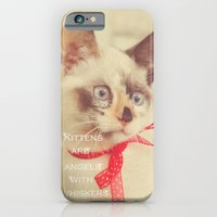 Angels With Whiskers iPhone 6 Slim Case