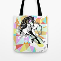 Comic Art: Wild Hearts Tote Bag