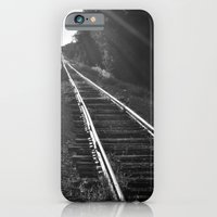 iPhone & iPod Case featuring Down the Line by Curt Saunier