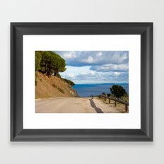 Beautiful walk 6325 Framed Art Print