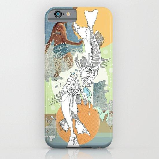 skeleton surf iPhone & iPod Case