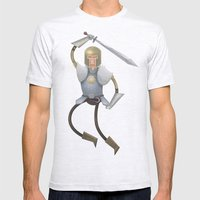 Knight Mens Fitted Tee Ash Grey SMALL