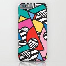 Colorful Memphis Modern Geometric Shapes iPhone 6 Slim Case